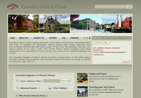 Historic Places of Canada