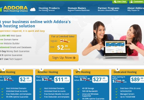 Addora Web Hosting